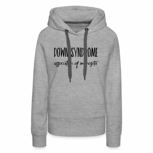Down Syndrome Association of MN Marker - Women's Premium Hoodie