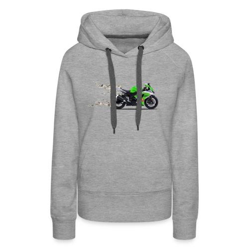 john motorbike - Women's Premium Hoodie