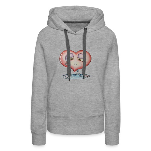 love hurts a little - Women's Premium Hoodie
