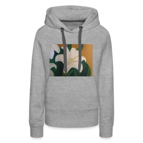 Single Flower - Women's Premium Hoodie