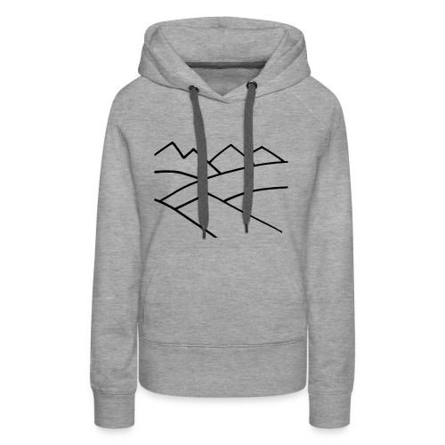 The Mountains - Women's Premium Hoodie