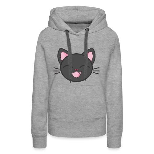 Smiling cat - Women's Premium Hoodie