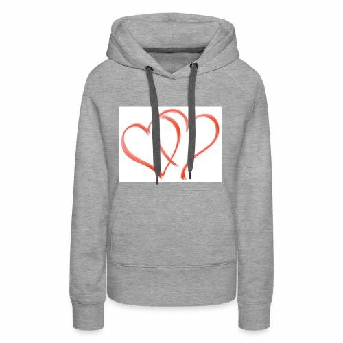 Double the Love - Women's Premium Hoodie