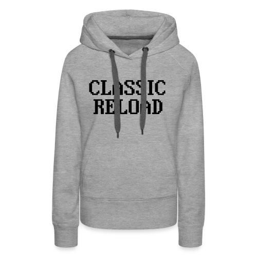 ClassicReload Classic Black - Women's Premium Hoodie