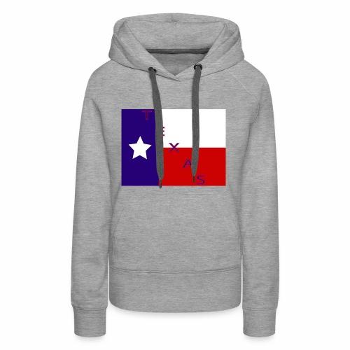 Texas Flag - Women's Premium Hoodie