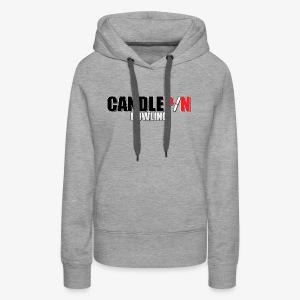 Candlepin Bowling - Women's Premium Hoodie
