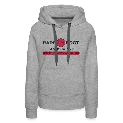 Bare Root Logo- Black - Women's Premium Hoodie