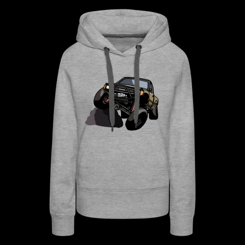 The Jalopy No BG - Women's Premium Hoodie