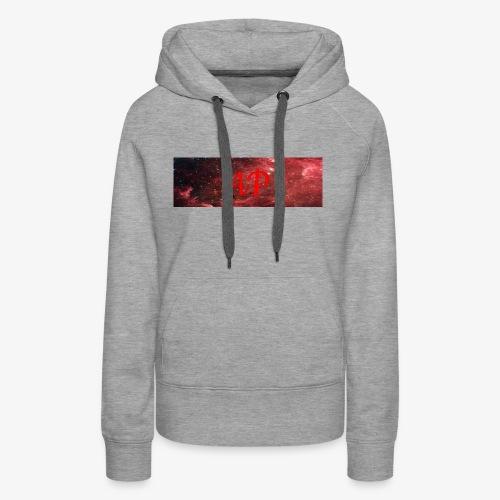 Almost Pro (Red Galaxy) - Women's Premium Hoodie