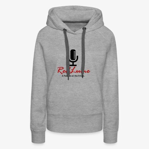 RedLume Logo Black - Women's Premium Hoodie