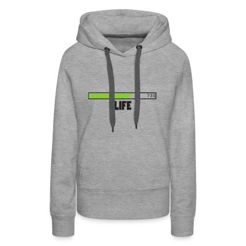 life T-shirt design by Jefranul - Women's Premium Hoodie
