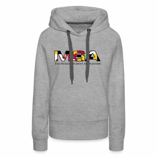 Maryland Flag MSA Logo - Women's Premium Hoodie