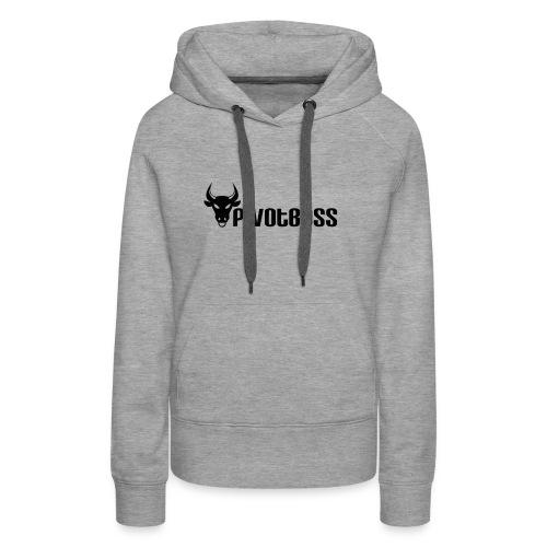 PivotBoss Black Logo - Women's Premium Hoodie
