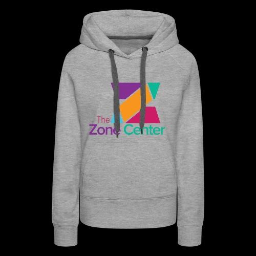 Zone Center T Shirt Logo MultiColor - Women's Premium Hoodie