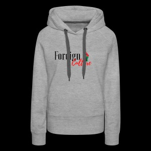 Foreign black letters - Women's Premium Hoodie
