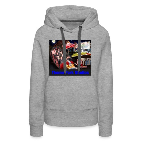 Themeparkstudios on lightning rod and lr pin - Women's Premium Hoodie