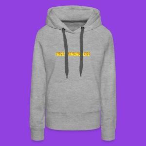 TheStarMunchers Logo - Women's Premium Hoodie