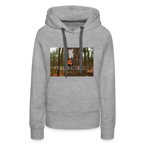 Back In Woods - Women's Premium Hoodie