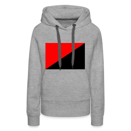 red and black - Women's Premium Hoodie
