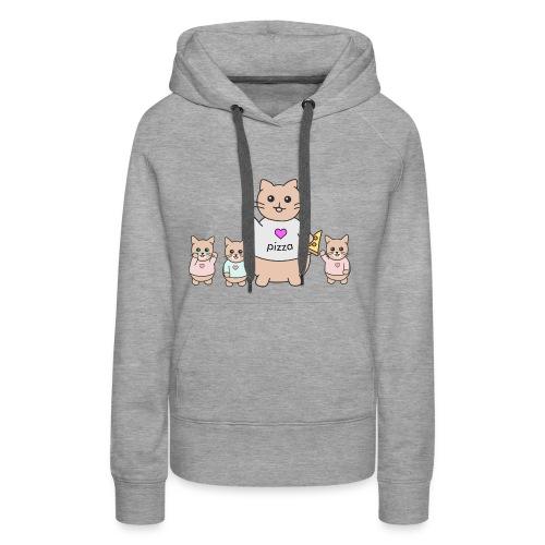 ligago the cat - Women's Premium Hoodie