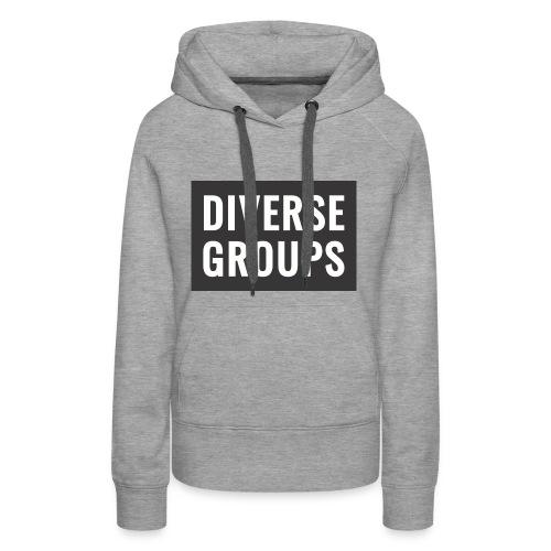DG Logo black - Women's Premium Hoodie