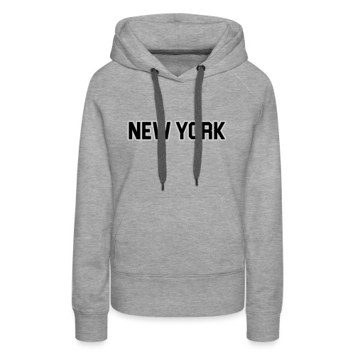 New York Yankee - Black - Women's Premium Hoodie