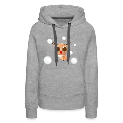 Reindeer of Christmas - Women's Premium Hoodie
