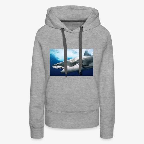 huge shark - Women's Premium Hoodie