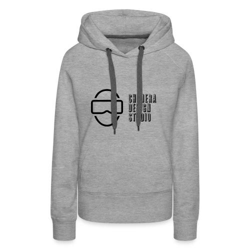 Chimera Design Studio dark logo - Women's Premium Hoodie