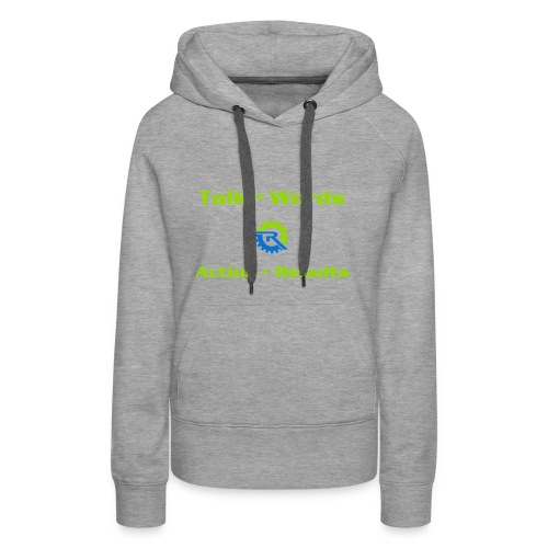 Action = Results - Women's Premium Hoodie