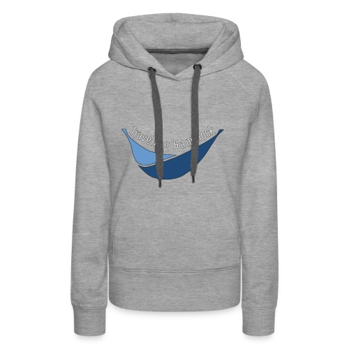 Traveling Hammock Logo without the background - Women's Premium Hoodie