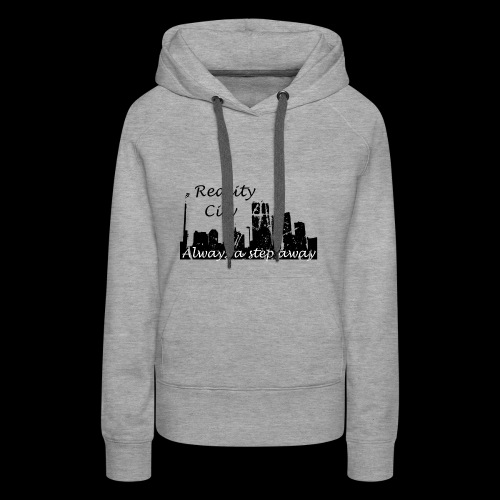 Reality City - light - Women's Premium Hoodie