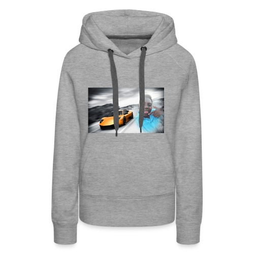 Hozayfa vlogs merch - Women's Premium Hoodie