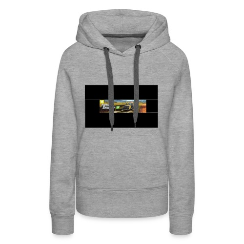 farming logo for youtube - Women's Premium Hoodie