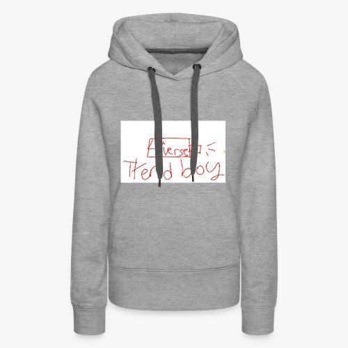 usb drive of the 3rd-4th verse - Women's Premium Hoodie