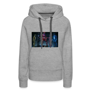 Boiis power ranger cosplay - Women's Premium Hoodie