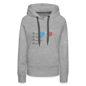 The REAL definition of NERD - Women's Premium Hoodie