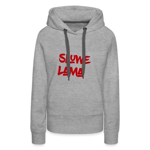 SluweLama Design - Women's Premium Hoodie