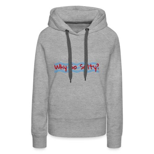 Why So Salty Logo - Women's Premium Hoodie