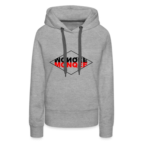 BLACK AND RED - Women's Premium Hoodie
