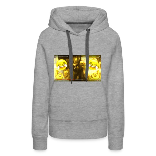 From Uncle Andy's Vlogs but Made Into JD Merch - Women's Premium Hoodie