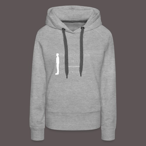 Chief End Of Man - Women's Premium Hoodie