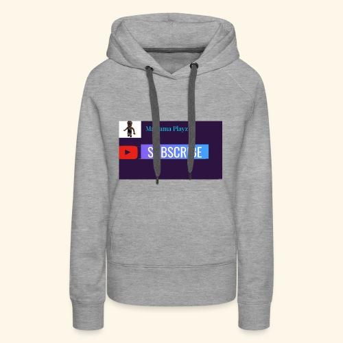 Mariama Playz Merch - Women's Premium Hoodie