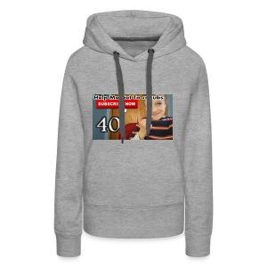 40 subs shirt - Women's Premium Hoodie