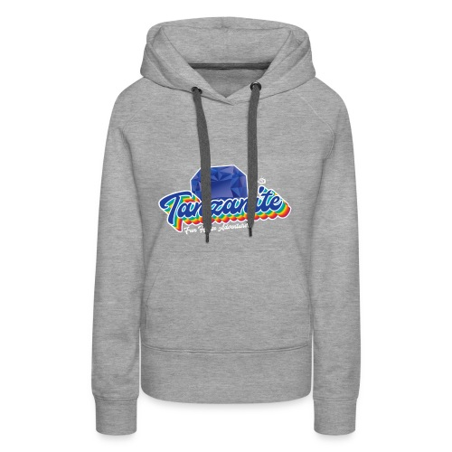 Tanzanite Birthstone Gem - Women's Premium Hoodie