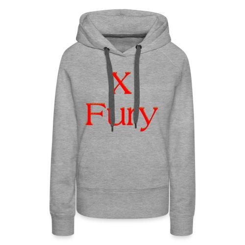 X Fury - Women's Premium Hoodie