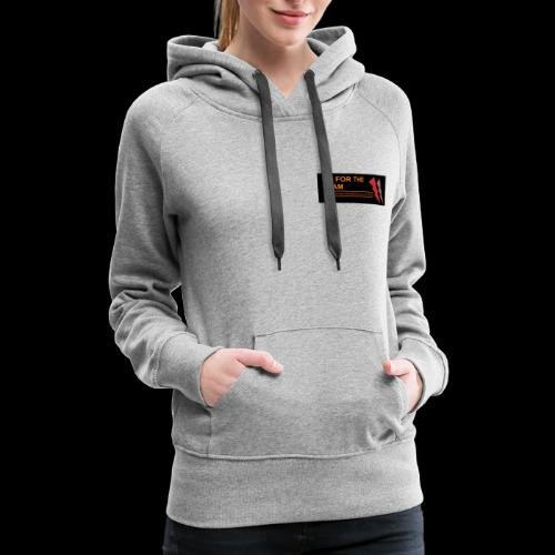my channel merch design - Women's Premium Hoodie
