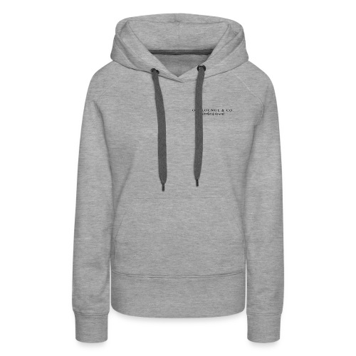 Oil Lounge & Co_Collab of Oily People - Women's Premium Hoodie