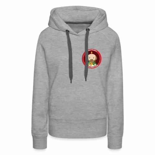 St. Jude Logo - English - Women's Premium Hoodie