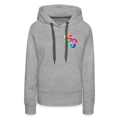 ShortyGamez Rainbow LOGO - Women's Premium Hoodie